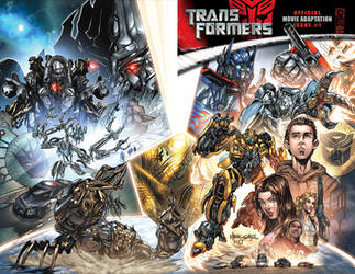 Transformers movie cover 1 by kieranoats