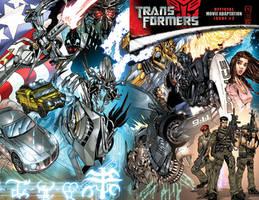 Transformers movie cover 2 by kieranoats