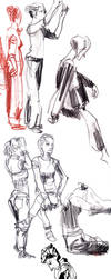 Sketchdump 01 by Arkanth