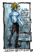 Inktober 09 - Eliphas by Arkanth