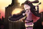 Yuzuki Yukari- God Eater (Crossover) by Rouss-Black