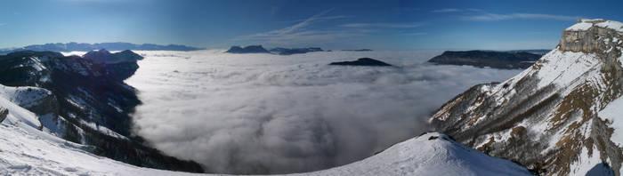 Mont Margeriaz by menoa