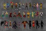Mortal Kombat 8 Roster (WIP)