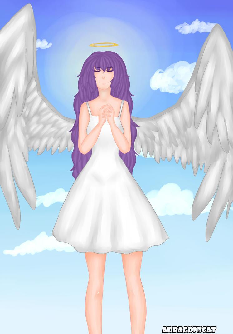 mi dulce angel by Adragonscat