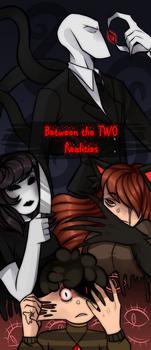 Creepypasta Comic: Between the TWO Realities.