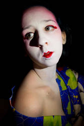 Geisha Creative SelfPortrait