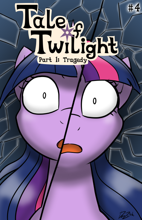 Tale of Twilight - Issue #4 Cover by DonZatch