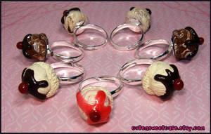 Ice Cream Scoop Rings by pinknikki