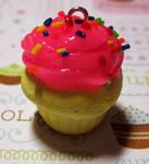 Custom Scented Vanilla Cupcake