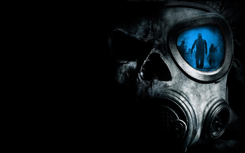 Gas Mask HD Wallpaper (Blue) by Apexx-iPredator