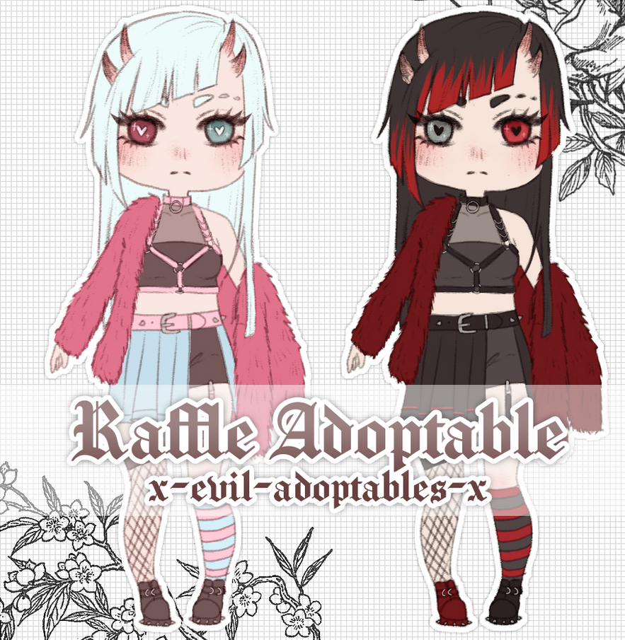 RAFFLE - win a free adoptable! [open]