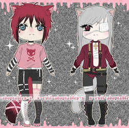 10$ adoptable - #3 and #4 [1/2 open]