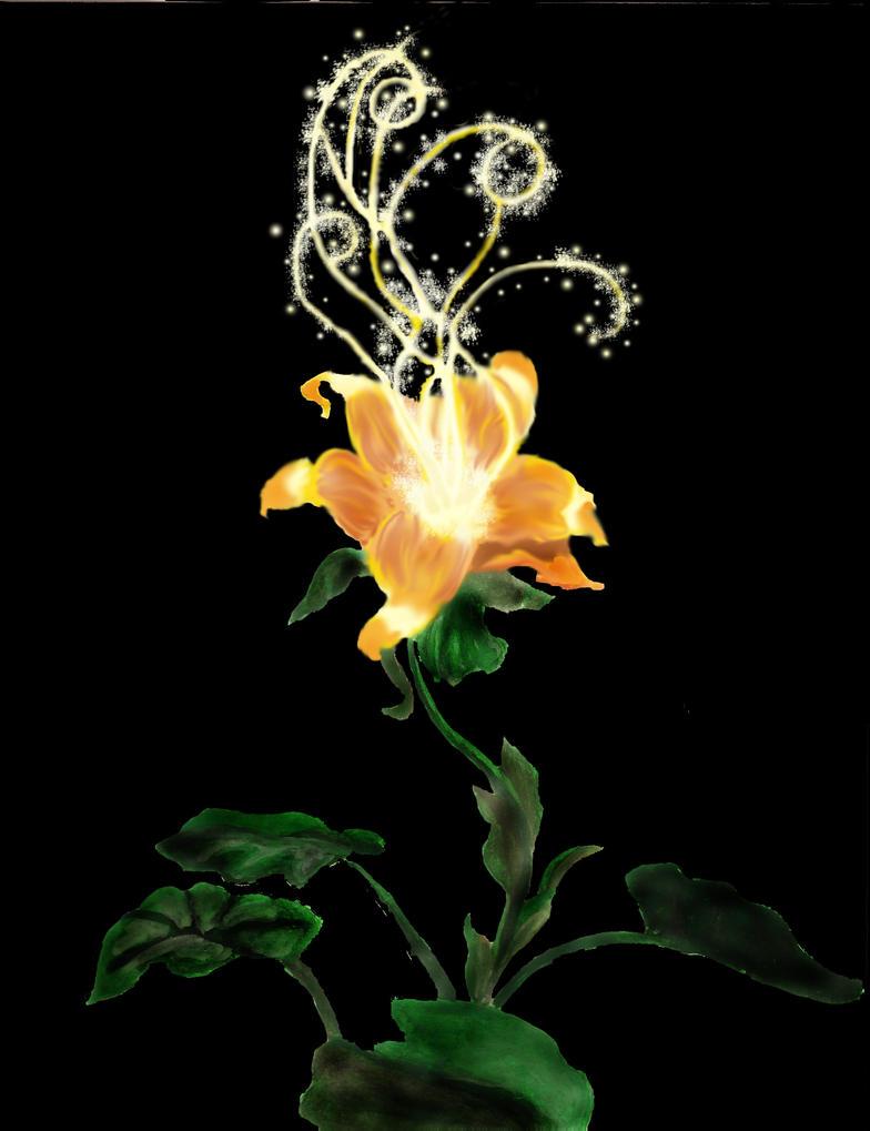 Tangled Magic Flower by TheAmazingElizabeth