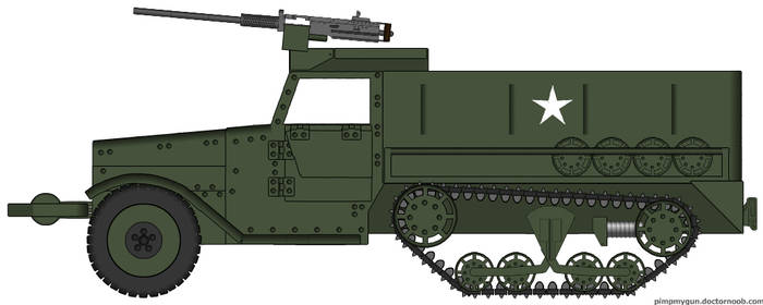 M3 halftrack by Northern-Dash