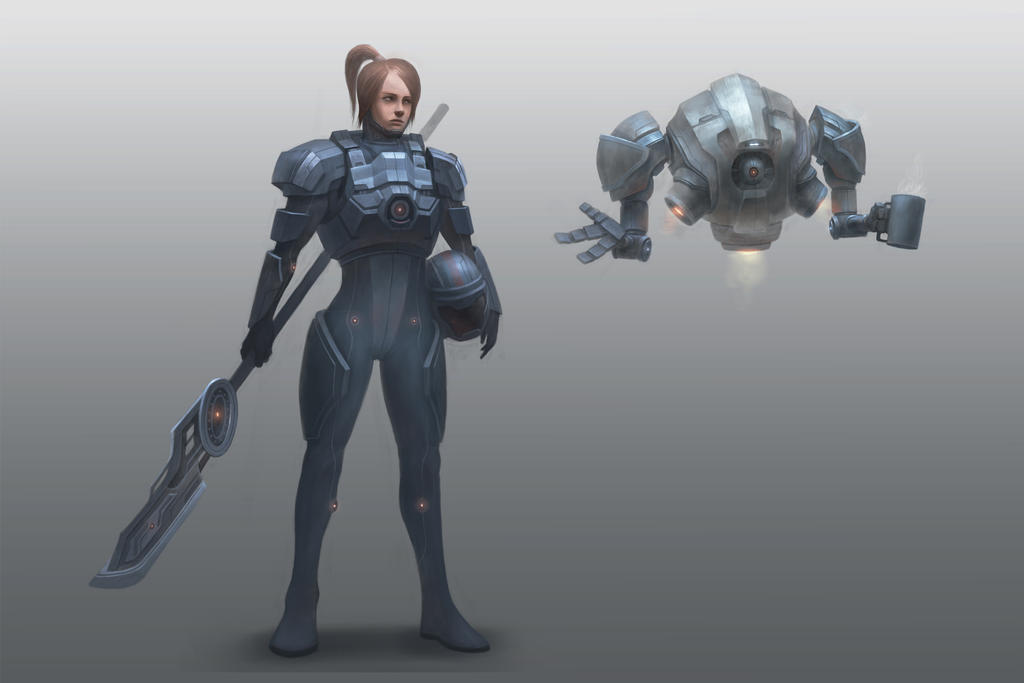 Character concept by concubot