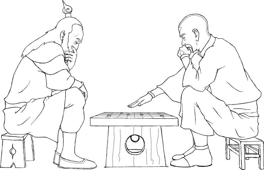 Roku and Gyatso - Old ...