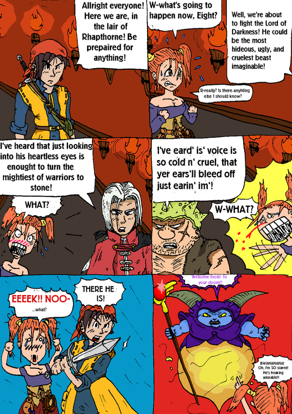 comic hentai dragon quest 8 jessica: