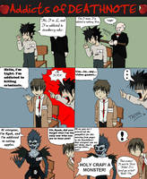 Addicts of DEATHNOTE by PharoahArch