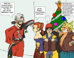 A Very Merry Dragon-Quest Xmas by PharoahArch