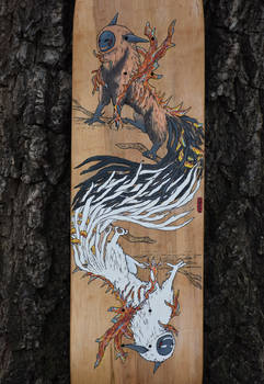 Murkhail Skateboard Art