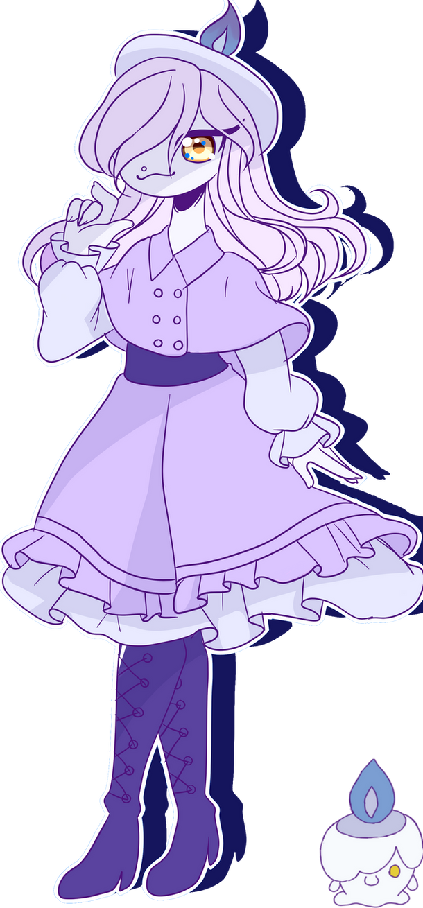 Litwick Gijinka by Rubyyarnold on DeviantArt for Litwick Gijinka  70ref