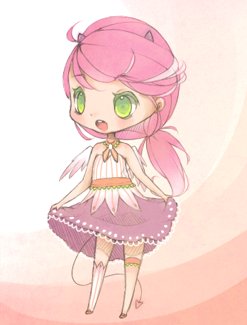[CLOSED] floral demon adopt by mioree