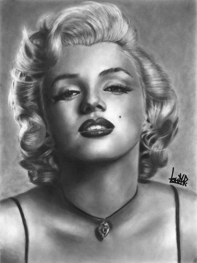 Marilyn Monroe by LohranRocha