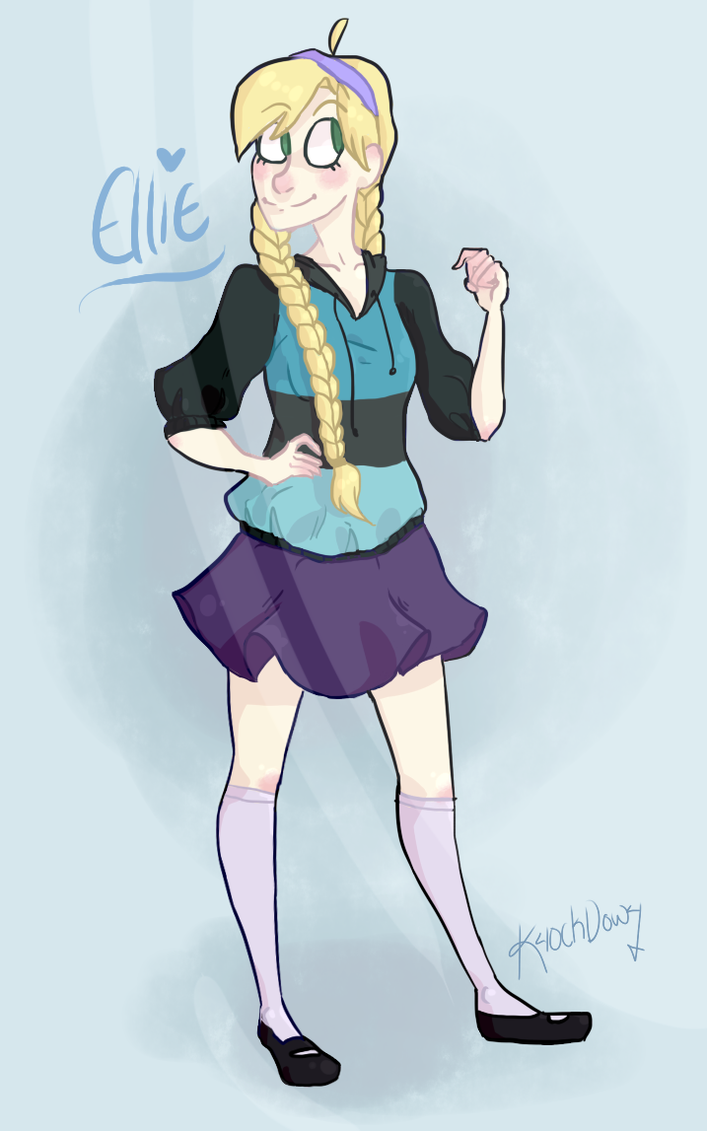 Ellie! by K40ckD0w4