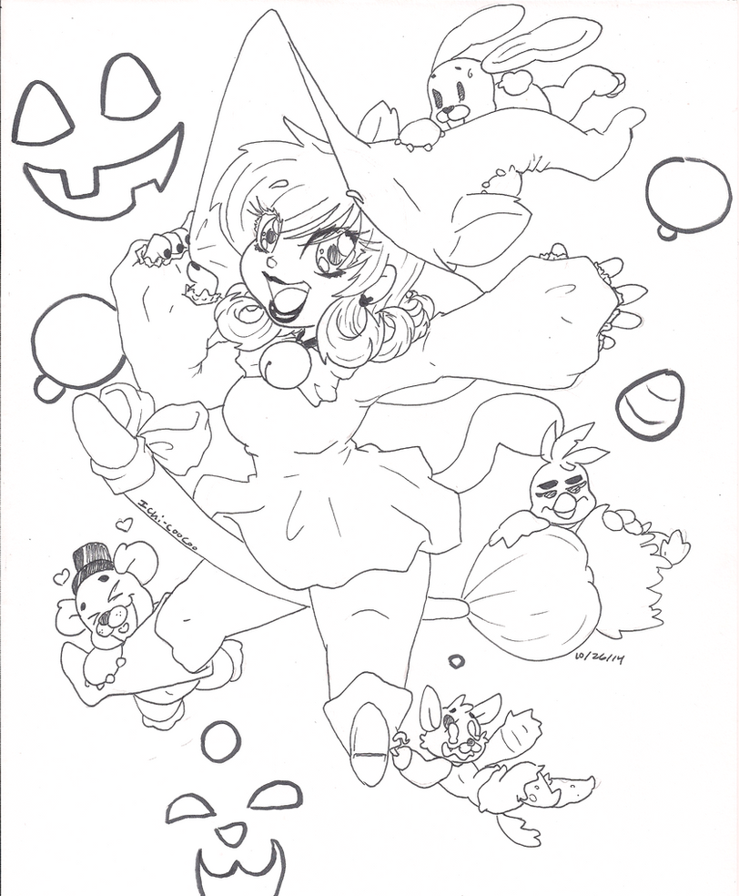 Happy Halloween by Ichi-CooCoo