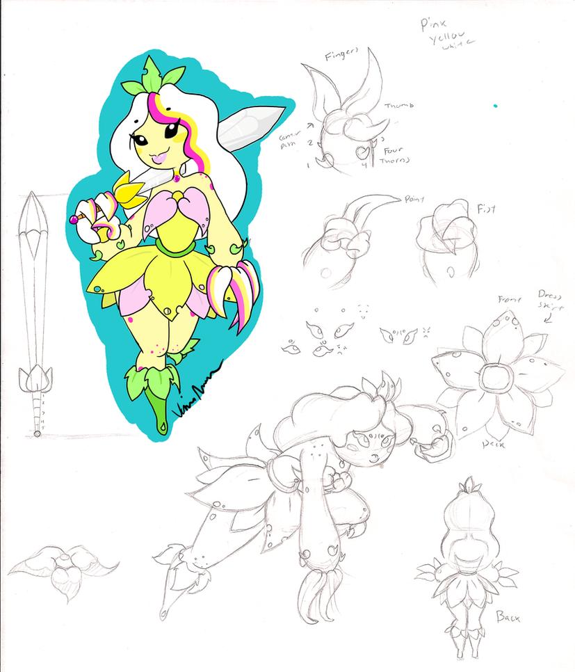 Flower Warrior by Ichi-CooCoo