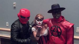 Anarky, Red Hood, Harley Quinn