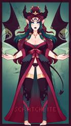 Adopt Auction: Spirit Handler Demoness (Closed)