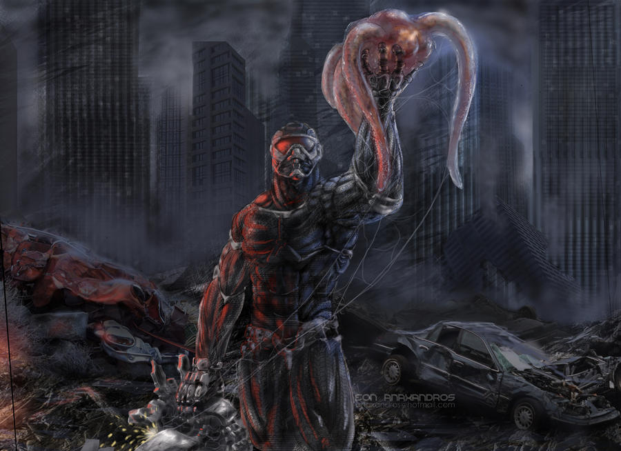 Crysis 2 Nanosuit Prophet By Bandro On DeviantArt