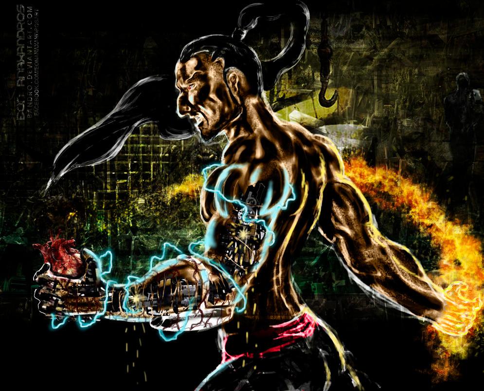 Mortal Kombat X Sektor Human by bandro