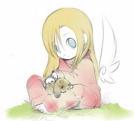 Angel+Bunny. by AHz7