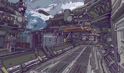 Freight Yard by ElijahMcNeal