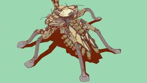Roach Mech Rearview by ElijahMcNeal