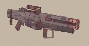 Lazy Rifle by ElijahMcNeal