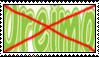 Anti Oreimo stamp by LadyRebeccaStamps