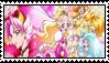 Stamp: Go! Princess Precure by LadyRebeccaStamps