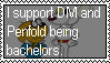 Stamp Request: DM and Penfold being bachelors by LadyRebeccaStamps