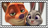 Stamp Request: Nick Wilde X Judy Hopps by LadyRebeccaStamps