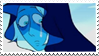 Crying Diamond stamp by LadyRebeccaStamps