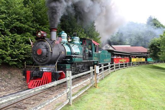 Tweetsie Railroad Theme Park Train in Boone