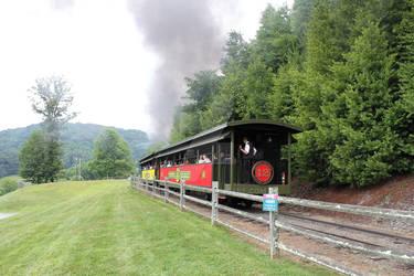 Goodbye Tweetsie Railroad Theme Park Train