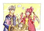 Robin and Anna - Fire Emblem Awakening