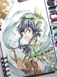 venti - watercolor