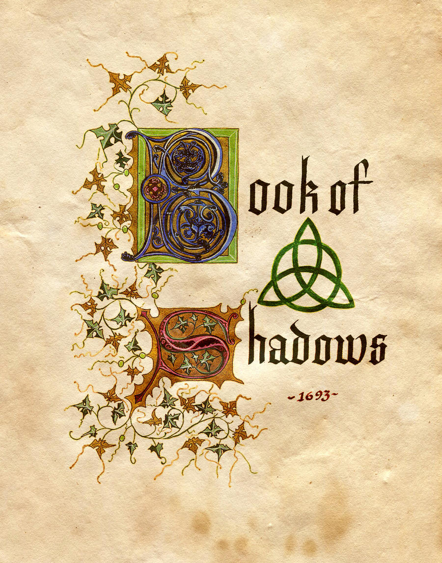 Book Of Shadows Cover Diy ~ Book of shadows by charmed bos on deviantart