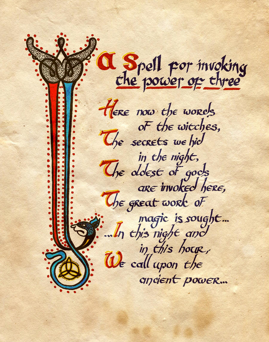 Charmed Spell Book