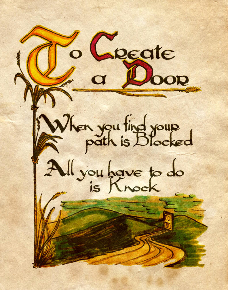 To Create A Door by Charmed-BOS